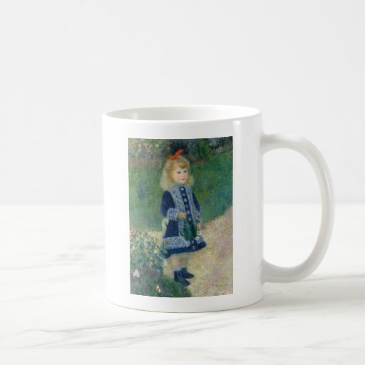Girl with a Watering Can by Pierre-Auguste Renoir Mug