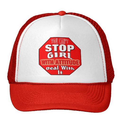 Girl With Attitude Trucker Hat