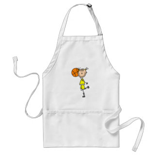 Girl With Basketball T-shirts and Gifts Standard Apron