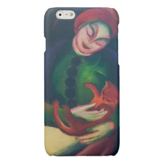 Girl With Cat II by Franz Marc iPhone 6 Plus Case