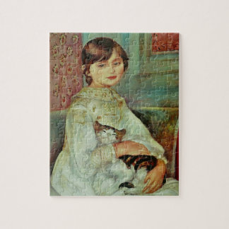 Girl With Cat Puzzle