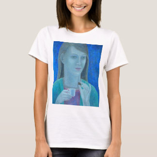 Girl with Chocolate 2011 T-Shirt