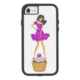 Girl with Cupcake Case-Mate Tough Extreme iPhone 8/7 Case