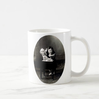 Girl With Doll Mug