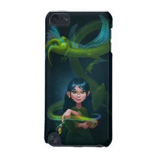 Girl with dragon iPod touch 5G cases