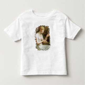 Girl with Flowers Toddler T-Shirt