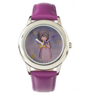 Girl with Kawaii Star Watch