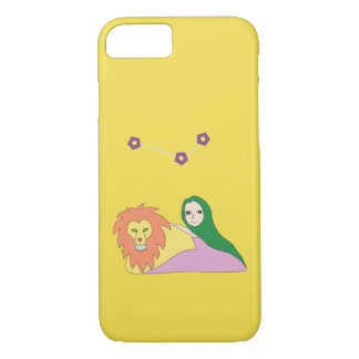 Girl with Lion Phone Case