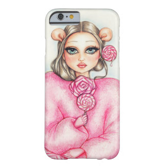 Girl with lollipop barely there iPhone 6 case