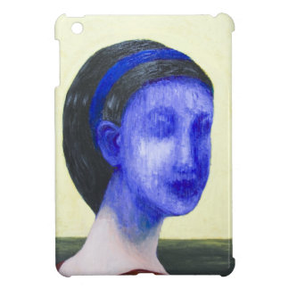 Girl with no face surreal realism iPad mini cover