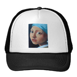 GIRL WITH PEARL EARRING CAP
