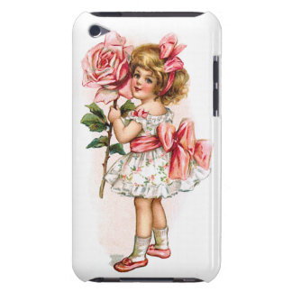 Girl with Rose iPod Touch Cover
