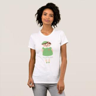 Girl with skirt T-Shirt