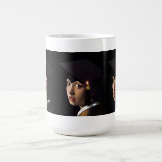 Girl with the Graduation Hat Coffee Mug