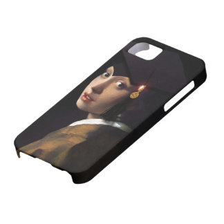 Girl with the Graduation Hat (Pearl Earring) Barely There iPhone 5 Case
