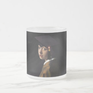 Girl with the Graduation Hat (Pearl Earring) Mug
