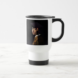 Girl with the Graduation Hat (Pearl Earring) Coffee Mugs