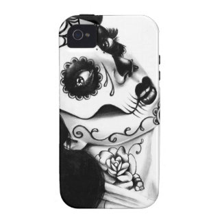Girl With The Neck Tattoo by Carissa Rose Vibe iPhone 4 Cover