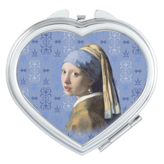 Girl with the Pearl Earring Mirrors For Makeup