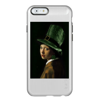Girl With The Shamrock Earring - St Patrick's Day Incipio Feather® Shine iPhone 6 Case