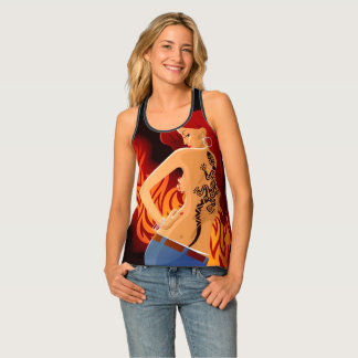 Girl with the Tattoo Tank Top