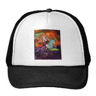 Girl with Torah Trucker Hat