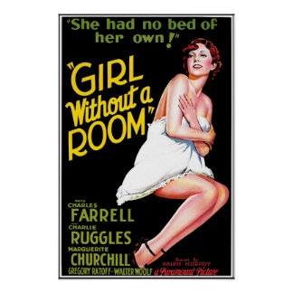 Girl Without A Room Print