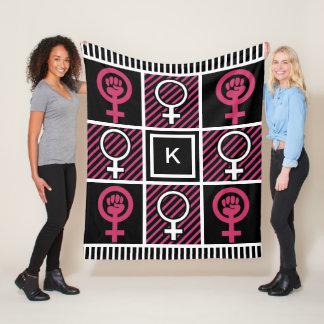 Girl/Woman Power Fleece Blanket
