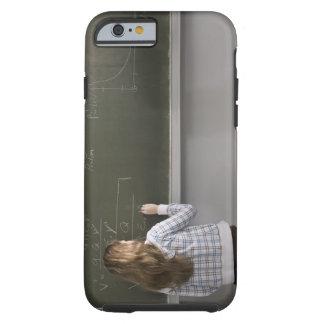 Girl writing on blackboard tough iPhone 6 case