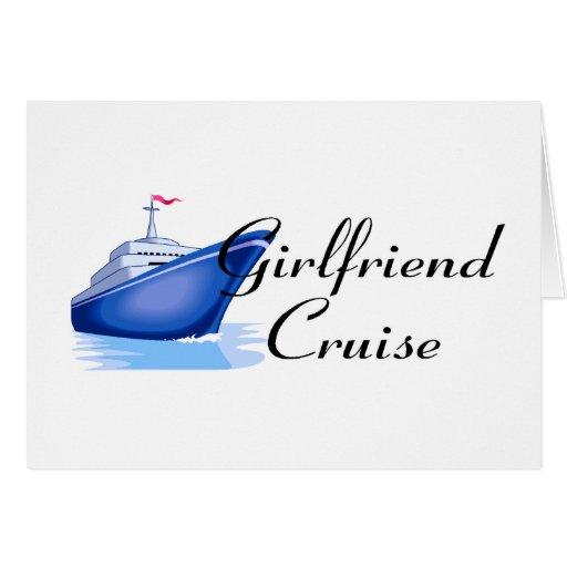 Girlfriend Cruise Greeting Card