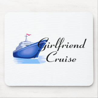Girlfriend Cruise Mouse Mat