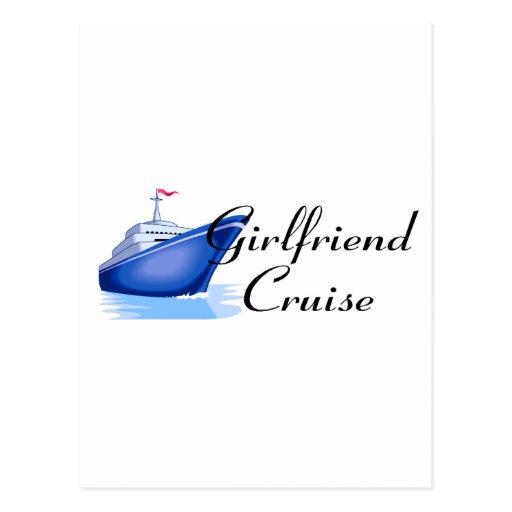 Girlfriend Cruise Post Card