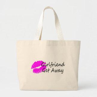 Girlfriend Get Away Jumbo Tote Bag