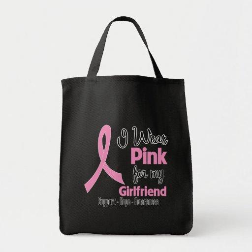 Girlfriend - I Wear Pink - Breast Cancer Bags