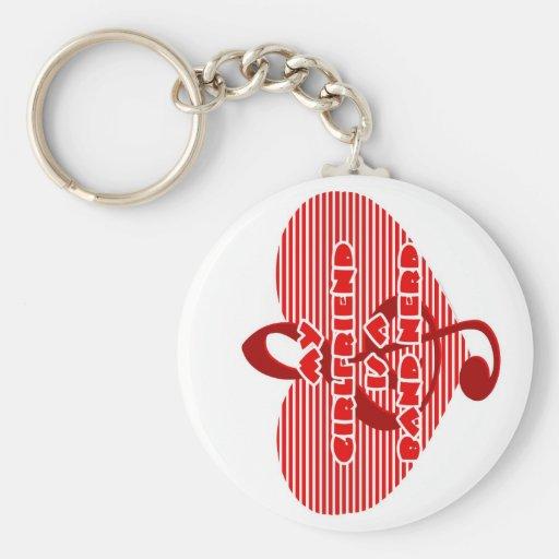 Girlfriend Is A Band Nerd Keychain