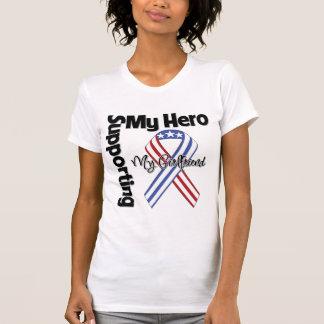 Girlfriend - Military Supporting My Hero Shirt