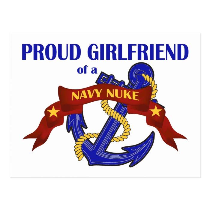 Girlfriend of a Navy Nuke Postcard