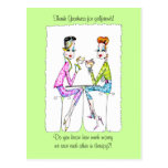Girlfriend Therapy by Collene Kennedy Post Cards