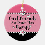 Girlfriend Therapy Personalised Ornament