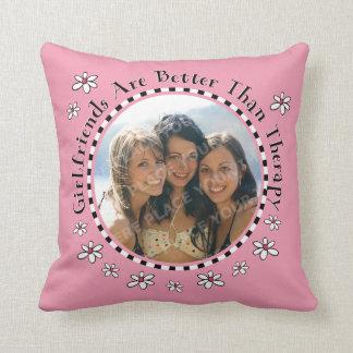 Girlfriend Therapy Photo Cushion