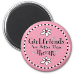 Girlfriend Therapy Refrigerator Magnet