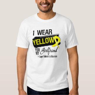 Girlfriend Yellow Ribbon Endometriosis Shirts
