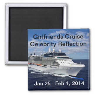 Girlfriends Cruise Magnet