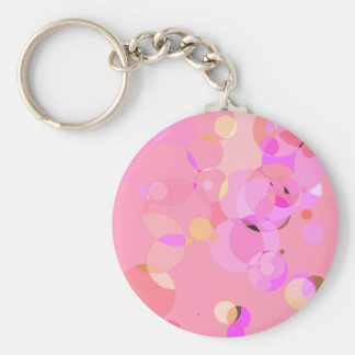 Girlie circles keychains