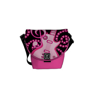 Girlie Guitar Courier Bag