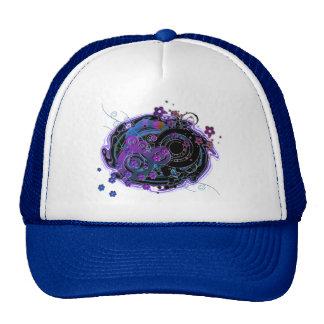 Girlie Swirly Mesh Hats