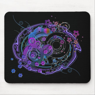 Girlie Swirly Mouse Pad