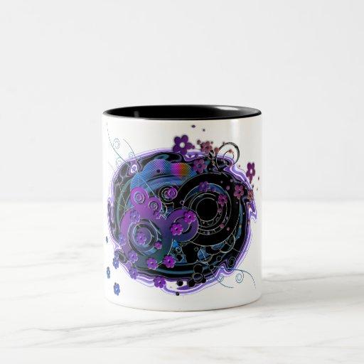 Girlie Swirly Mug