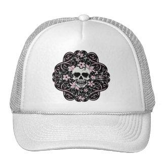 Girlie Vintage Skull Trucker Hat