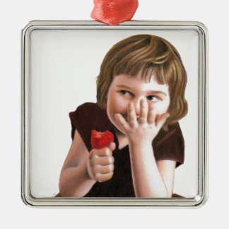 Girlish Giggles by Ana Tirolese Christmas Ornament